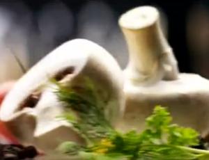 Реклама Gefest заодно рекламирует шампиньоны