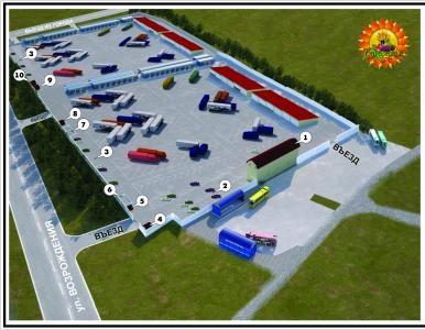 В Луганске остался только один оптовый рынок