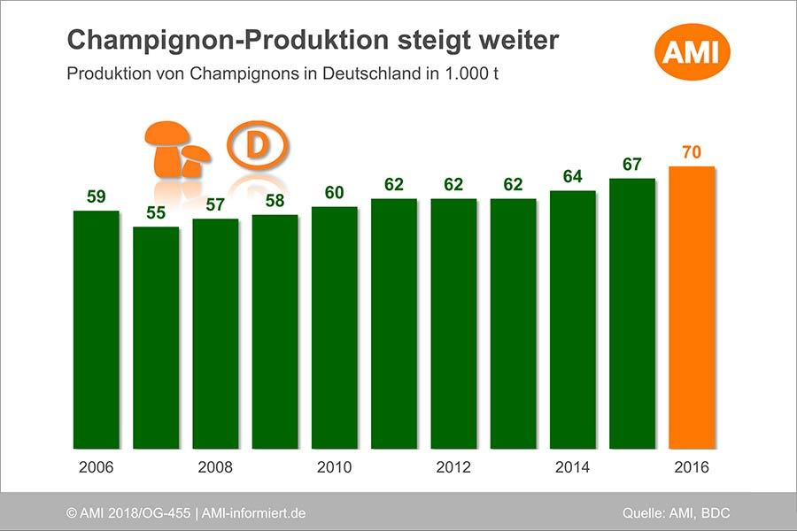 В 2017 году из Украины было экспортировано 533 тонны шампиньона