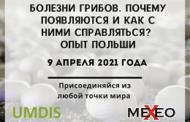 На ОНЛАЙН-Форуме 9 апреля польские эксперты расскажут как справляются с болезнями грибов. РЕГИСТРИРУЙСЯ для участия сейчас!